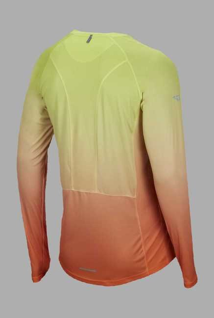 Outpace Yellow & Orange Running T Shirt