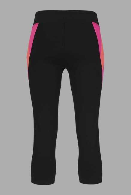 Doone Black High Rise Training Capri