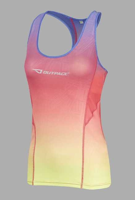 Outpace Pink Running Singlet