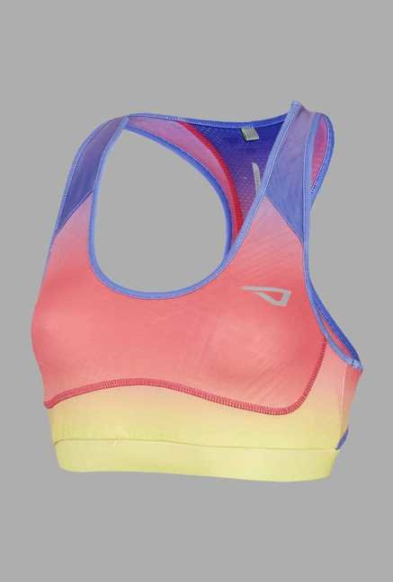Outpace Pink Running Sports Top