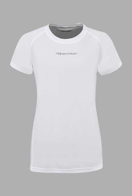 Outpace White Running T Shirt