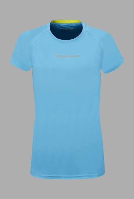 Outpace Blue Running T Shirt