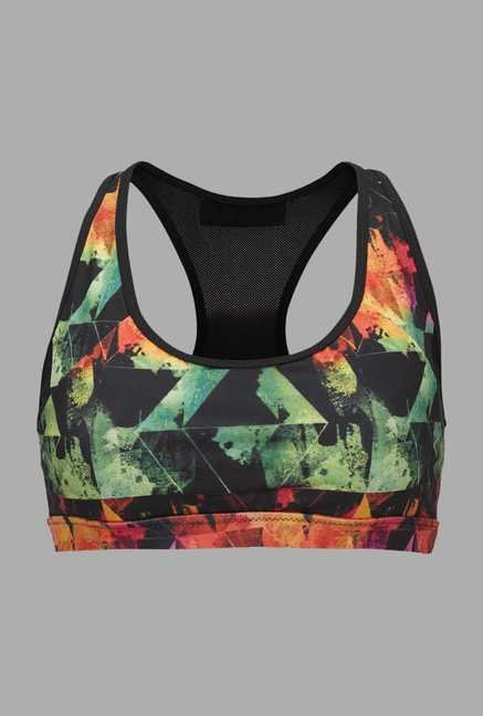 Doone Black & Green Training Sports Top