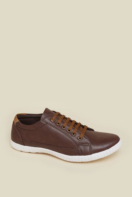 Zudio Brown Sneaker Shoes