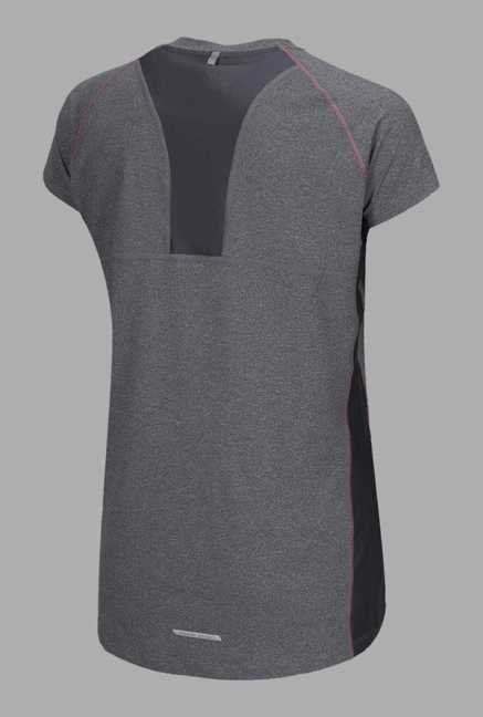 Outpace Grey Running T Shirt