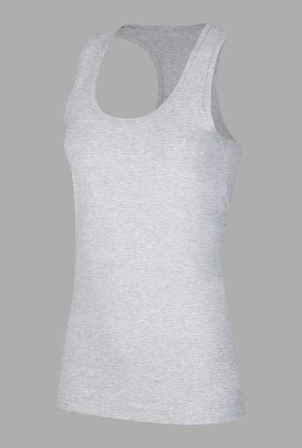 Doone Light Grey Training Singlet