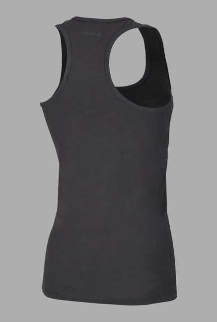 Doone Black Sleeveless Training Singlet