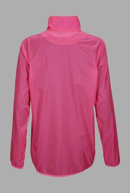 Outpace Pink Running Windbreaker Jacket