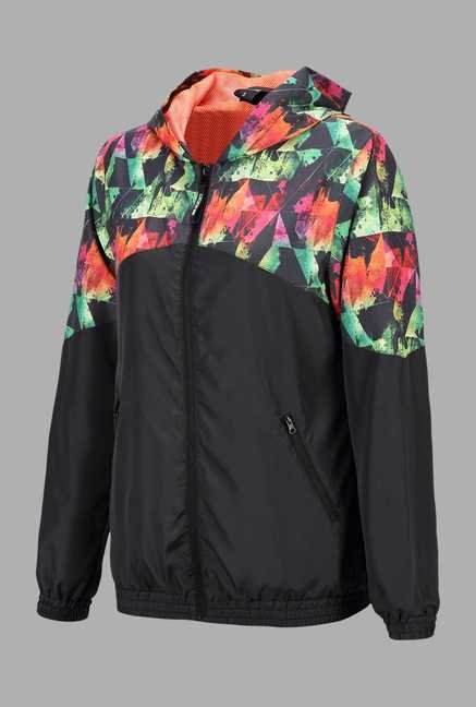 Doone Black Training Jacket