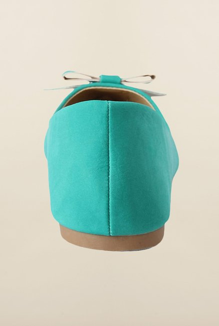 People Turquoise Ballerina Shoes