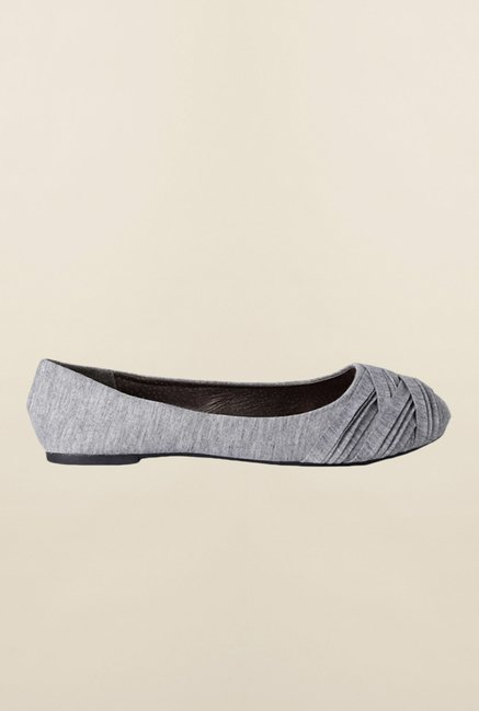 People Grey Ballerina Shoes