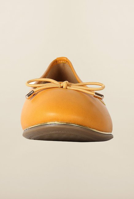 Allen Solly Yellow Casual Ballerinas