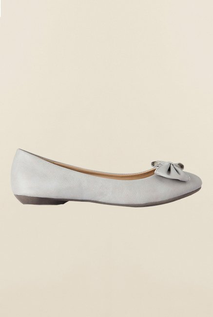 Allen Solly Grey Flat Ballerinas