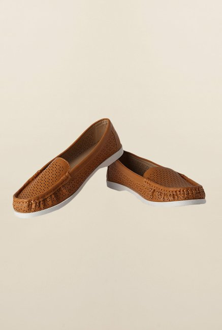 People Brown Casual Loafers