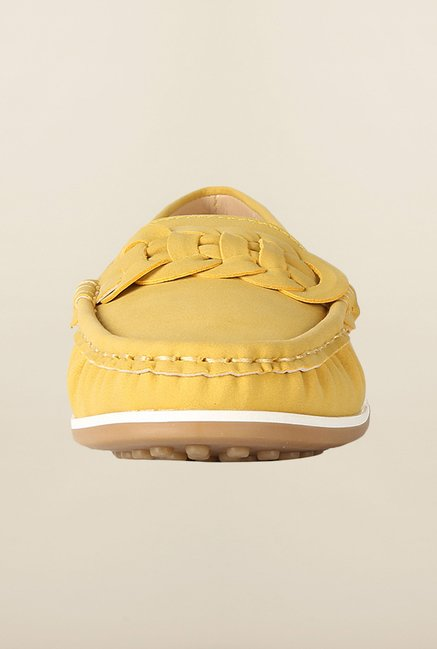 Allen Solly Yellow Casual Loafers
