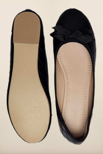 Allen Solly Black Casual Ballerinas