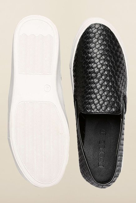 People Black Casual Loafers