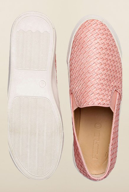 People Pink Casual Loafers