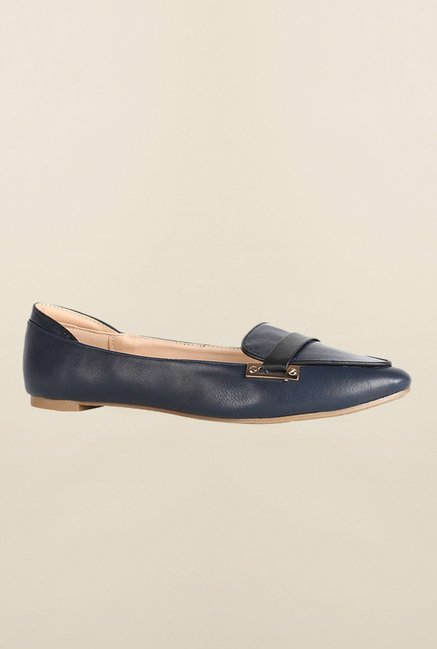 Van Heusen Navy Ballerina Shoes