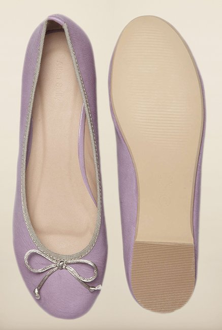 Allen Solly Purple Flat Ballerinas