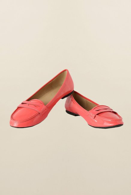 People Peach Casual Loafers