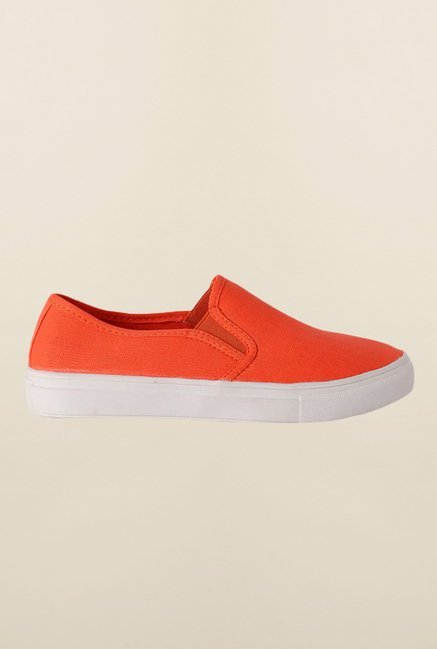 People Orange Casual Shoes