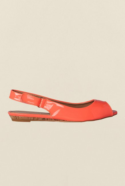 Van Heusen Peach Peep Toe Sandals