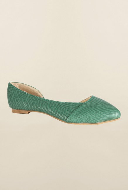 People Green D'orsay Shoes