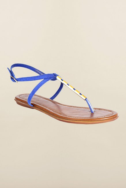 Van Heusen Blue Back Strap Sandals