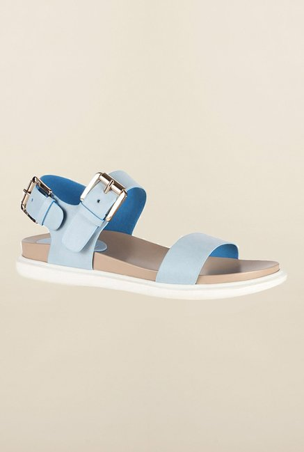 Van Heusen Light Blue Ankle Strap Sandals