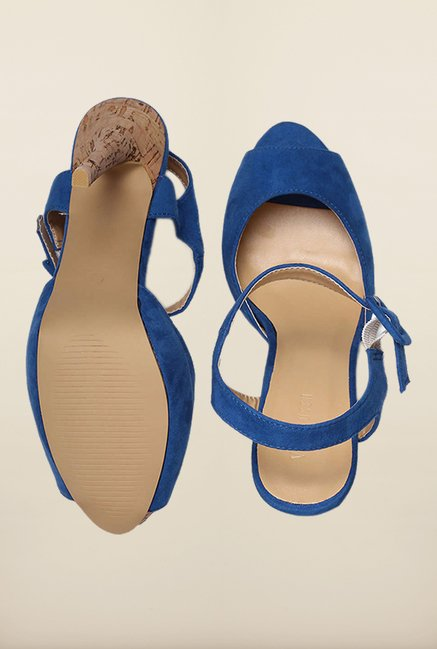 Van Heusen Blue Stiletto Heel Sandals