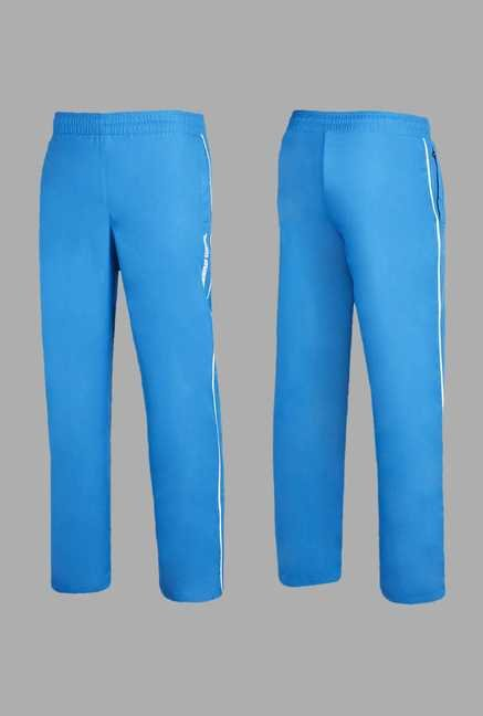 Team Quest Blue Solid Football Track Suit Set