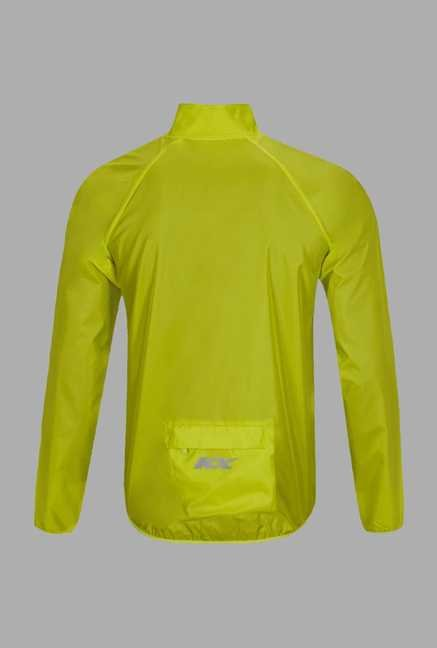 KX Lime Solid Cycling Jacket