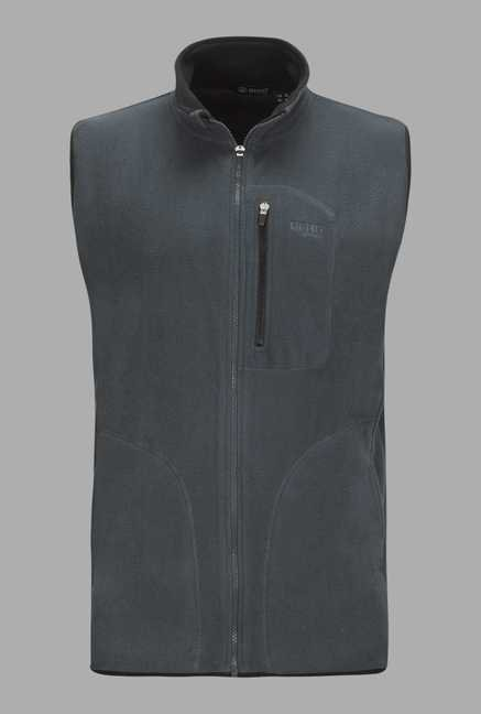 Berg Grey Solid Cycling Jacket