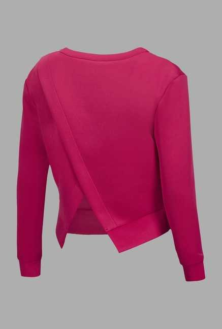 Doone Pink Training Sweatshirt