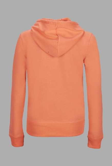 Doone Coral Printed Training Sweatshirt