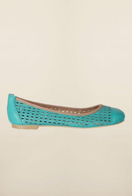 Allen Solly Turquoise Ballerina Shoes