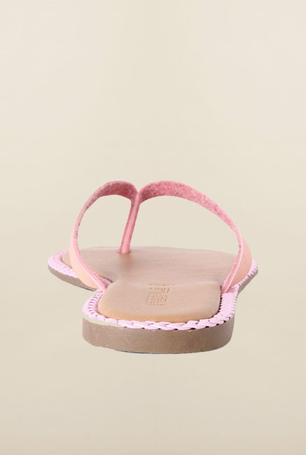 People Peach Thong Sandals