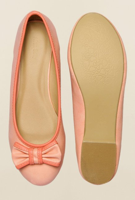 Allen Solly Peach Flat Ballerinas