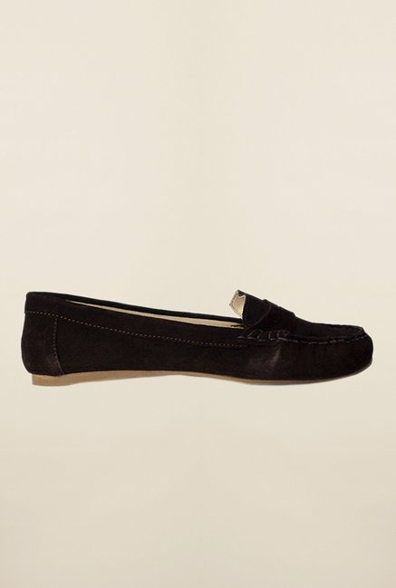 Van Heusen Dark Brown Casual Loafers