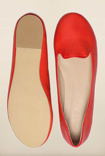 Allen Solly Red Ballerina Shoes