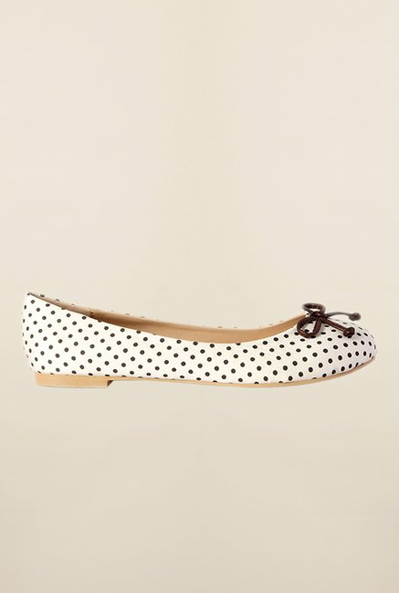 Allen Solly White Ballerina Shoes
