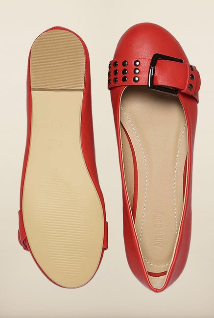Allen Solly Red Flat Ballerinas
