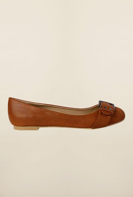 Allen Solly Brown Flat Ballerinas