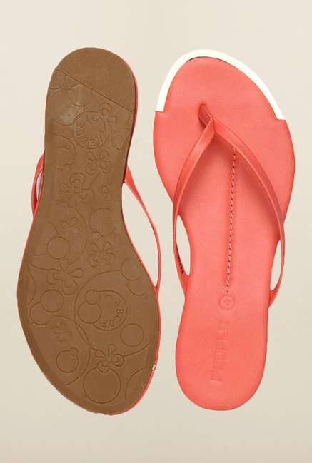 People Pink Flat Sandals
