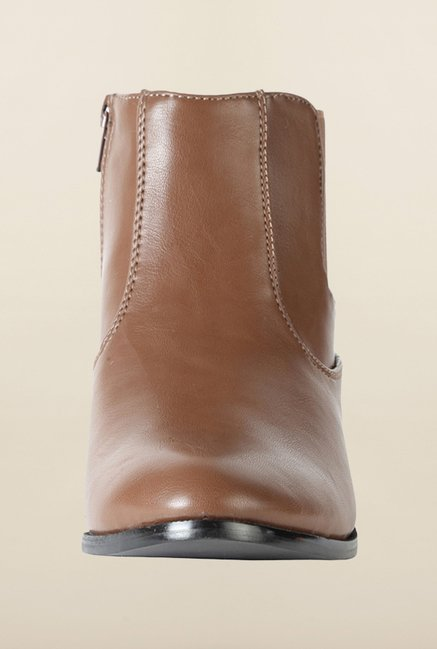 Allen Solly Brown Chelsea Boots