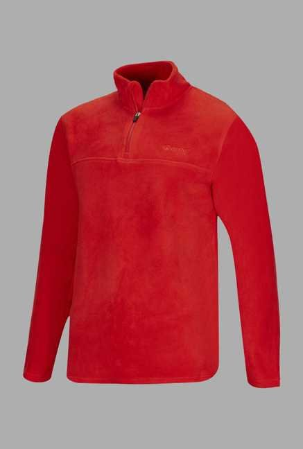 Berg Red Solid Cycling Sweatshirt