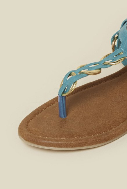 Zudio Turquoise Ring Sandals