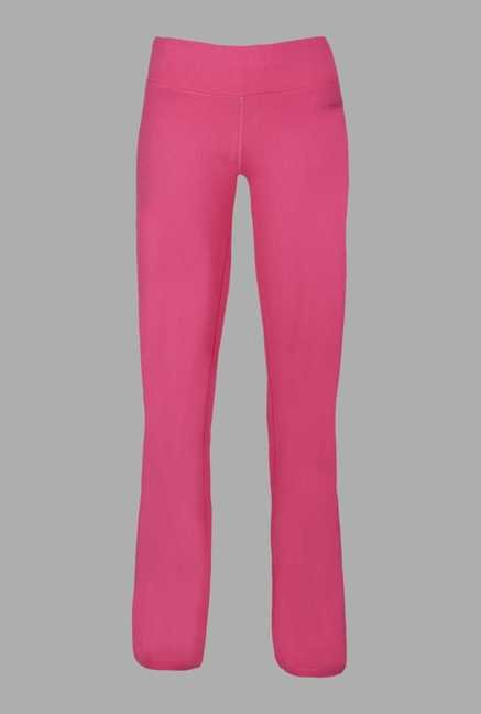 Doone Pink High Rise Training Track Pants