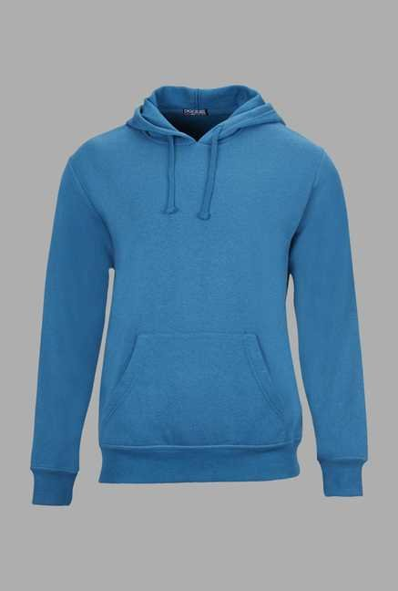 Doone Blue Solid Training Sweatshirt